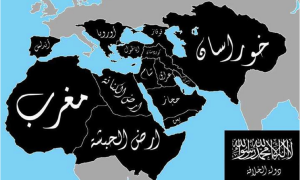 Jihadist map of Muslim Caliphate