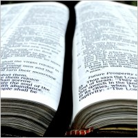 picture of open bible