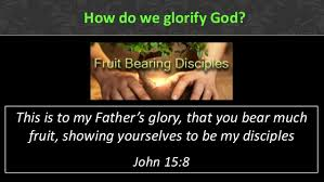 How do we glorify God