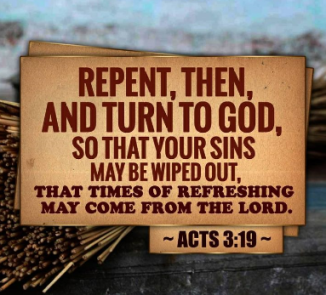 Image result for picture of Scripture on repentance